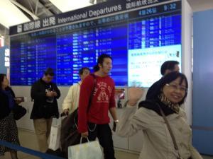 Berpisah di Kansai Airport, kembali ke Jakarta