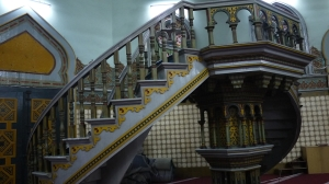 Tempat Azan, bangunan nya masih asli sejak ratusan tahun lalu